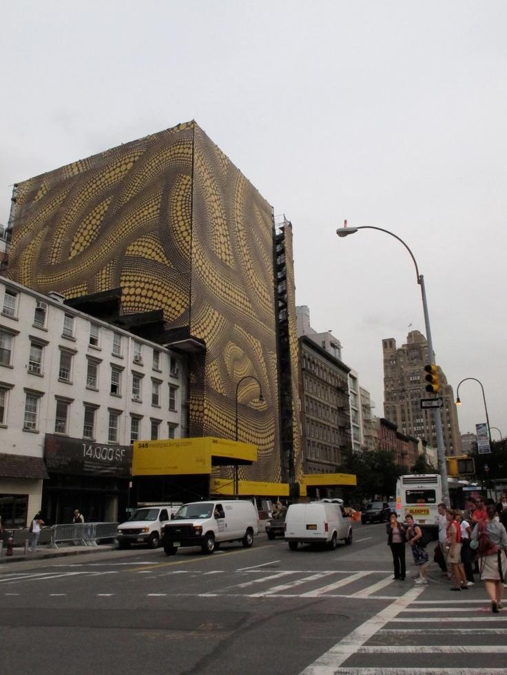 Kusama takes Manhattan, New York   Photo by Emiliano López