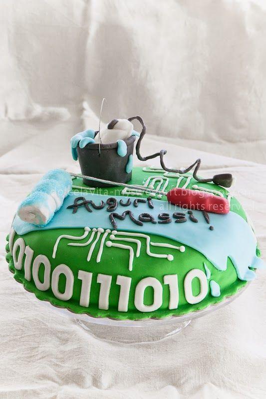 DolcélaVita food_photography : La torta dell'ingegnere (un po' informatico, un po' edile!)