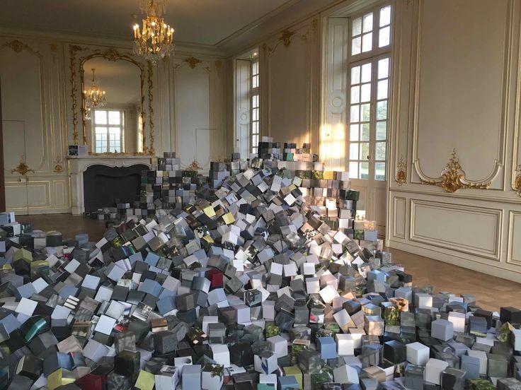 oeuvre de Jean-Benoit Lallemant et RIchard Louvet intitulé : Distributed Denial of Service Attack