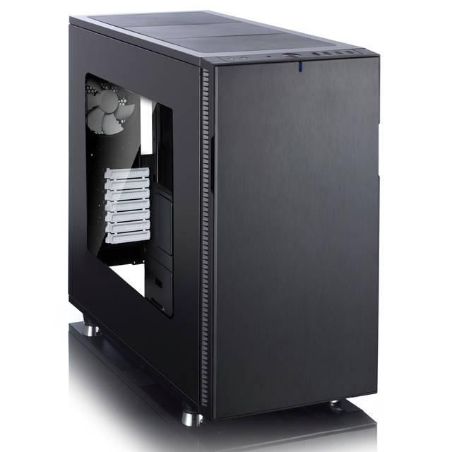 Fractal Design Define R5 No Power Supply ATX Mid Tower w- Window (Black)