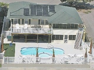 Myrtle Beach House Rental!  Beautiful updated 6-BR Now NEW SALT WATER POOL & HOT TUB!OCEANVIEW!PuttingGreen!Vacation Rental in Crescent Beach from @HomeAway! #vacation #rental #travel #homeaway