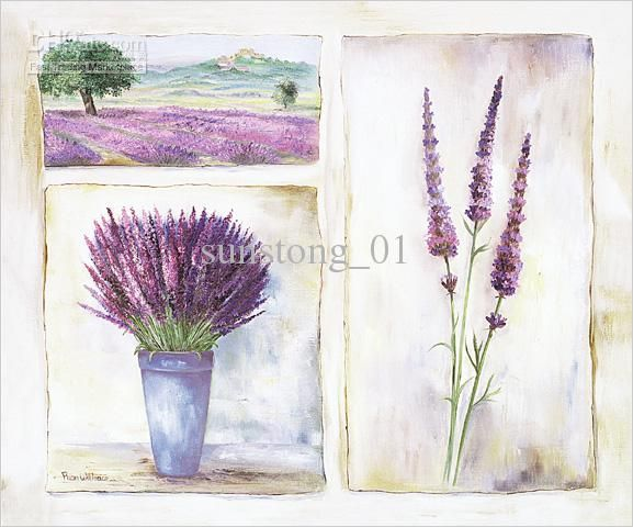 lavender painting - photo #20