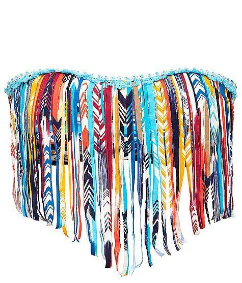 Lucky Brand Guatemala Beach Swimwear Top