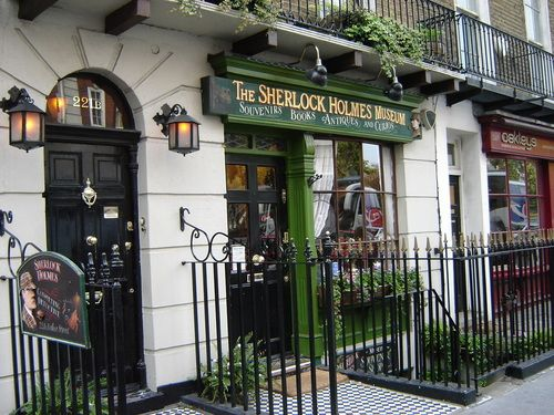 221 B. Baker Street...another highlight of my trip to London.