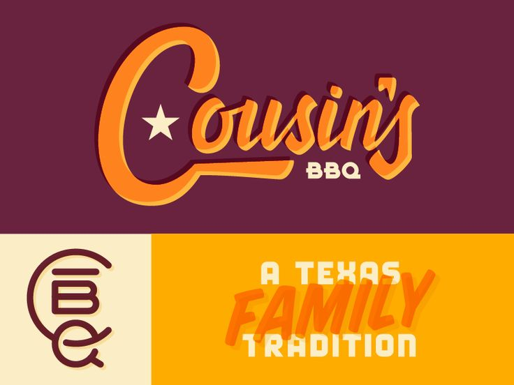 Cousin's BBQ Brand Concept