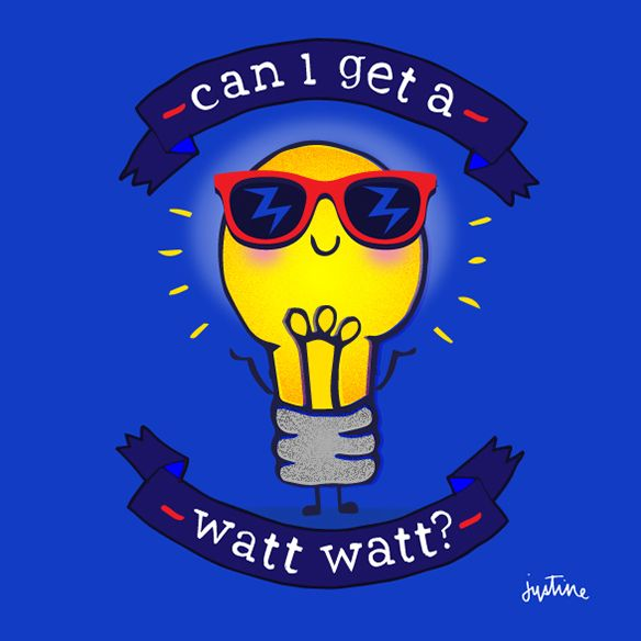 Can I get a Watt Watt? @missjussymo