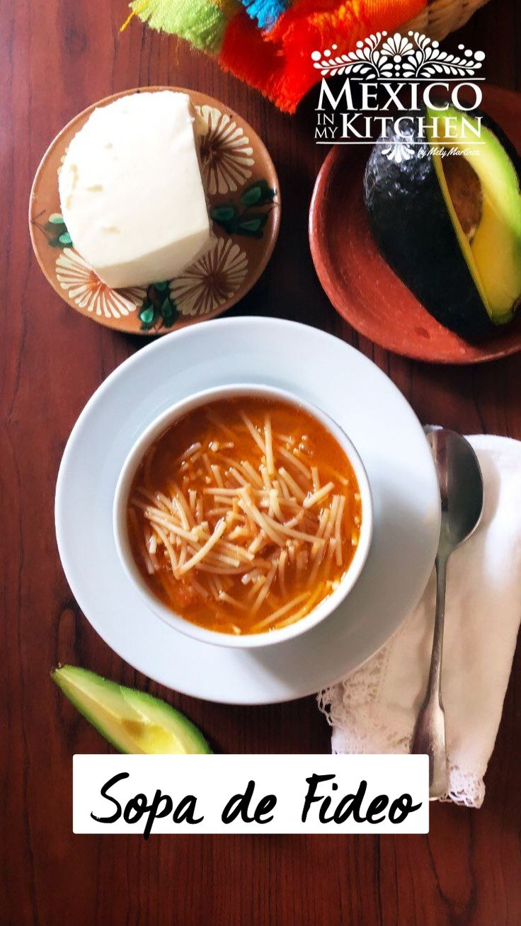 Mexican Soup Recipes, Mexican Dishes, Mexican Sopa, Authentic Mexican Recipes, Healthy Crockpot Recipes, Cooking Recipes, Vegan Recipes, Real Mexican Food, Mexican Cooking