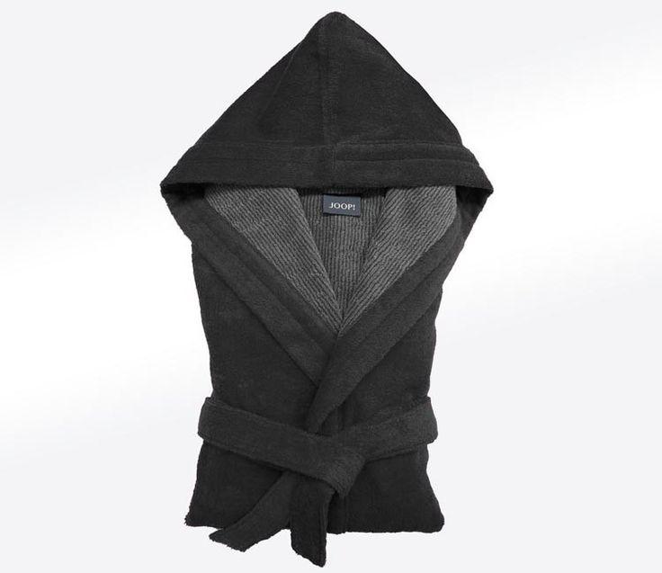 Szlafrok Joop Classic Men Hood Black