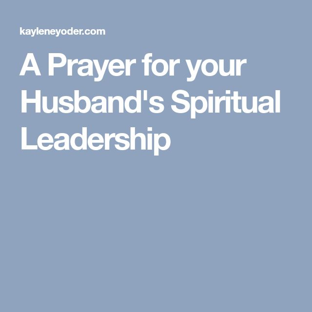 Bible Verses About Husband Being Spiritual Leader