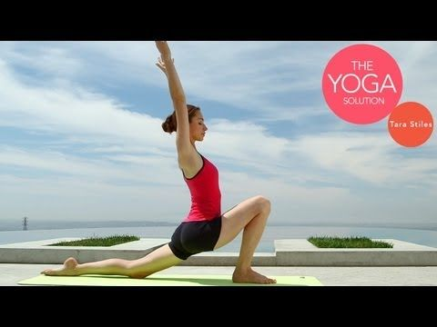 Relaxing Bedtime Yoga  | The Yoga Solution with Tara Stiles - yoga video