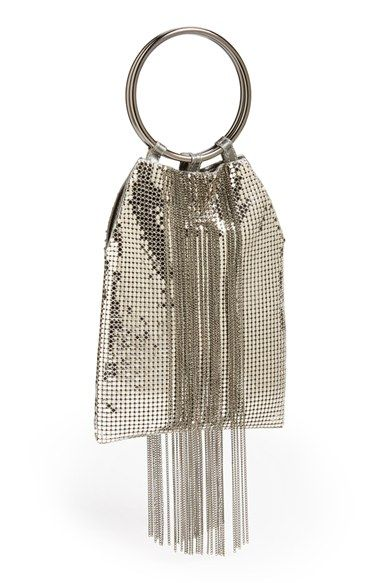 Free shipping and returns on Whiting & Davis Cascade Fringe Evening Bag at Nordstrom.com. Chainlink fringe sways on a metal-mesh clutch that's the perfect size for your evening essentials. Vintage-inspired double-ring handles play up the retro-glam appeal.