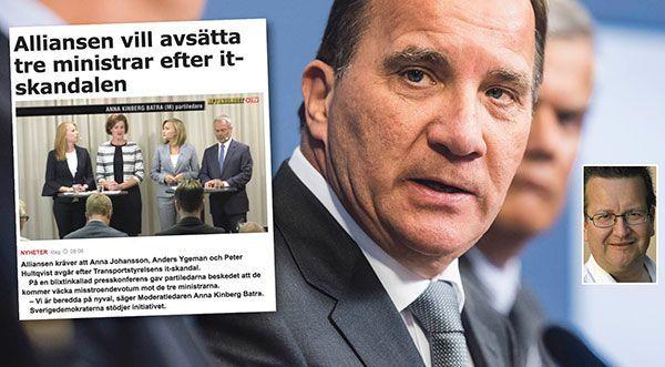 Avgå, Stefan Löfven – det är det enda rätta.