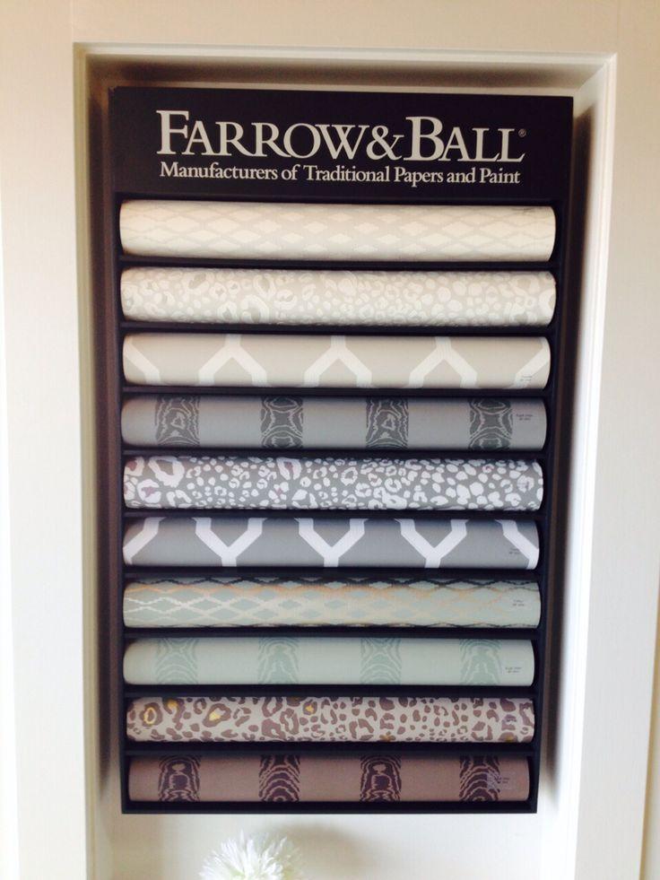 Farrow & Ball Wallpaper Display