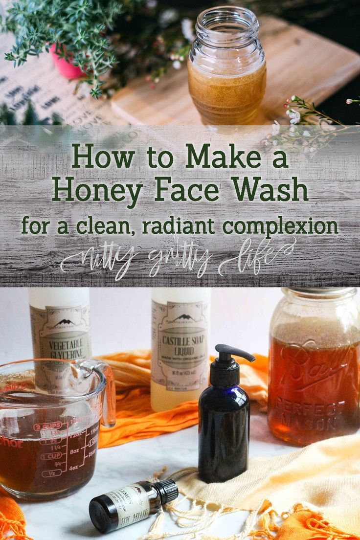 Back to Basics: Best Homemade Natural Face Wash with Honey