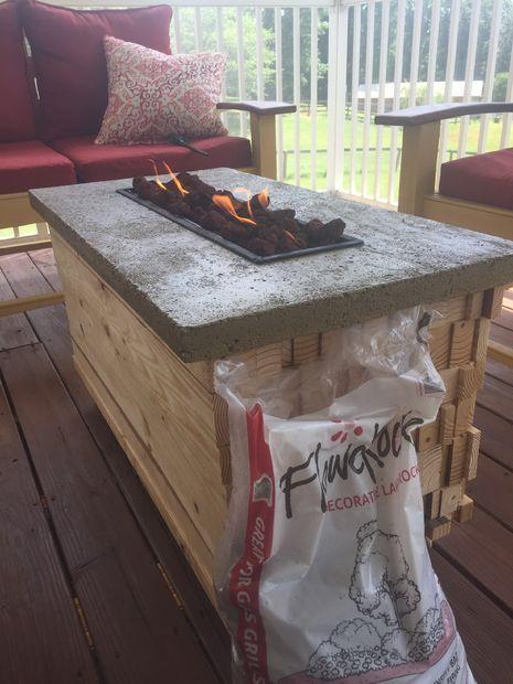 Best 25 Fire Pit Coffee Table Ideas On Pinterest