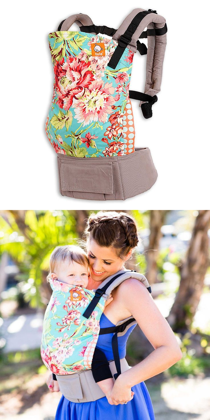 Carriers Slings and Backpacks 100982: Tula Ergonomic Baby Carrier - Bliss Bouquet - Brand New. Free Shipping! -> BUY IT NOW ONLY: $115 on eBay!