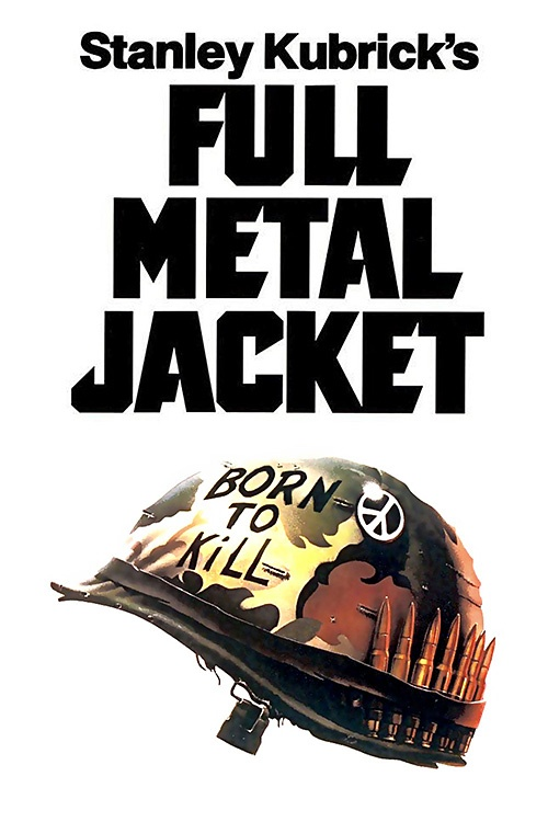 Movie: Full Metal Jacket (1987) The film follows a platoon of U.S. Marines through their training and the experiences of two of the platoon's Marines in the Tet Offensive during the Vietnam War.