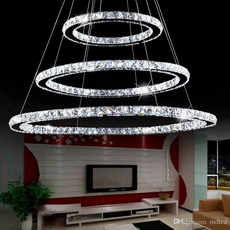 Diamond Ring Led Crystal Chandelier Light Modern Led Lighting Circles Lamp Fixture Suspension Lumiere 85-265v Hotel Cafe Decoration Led Ceil Led Crystal Chandelier Chandelier Lighting Ring Chandelier Light Online with $540.0/Piece on Mdled's Store | DHgate.com