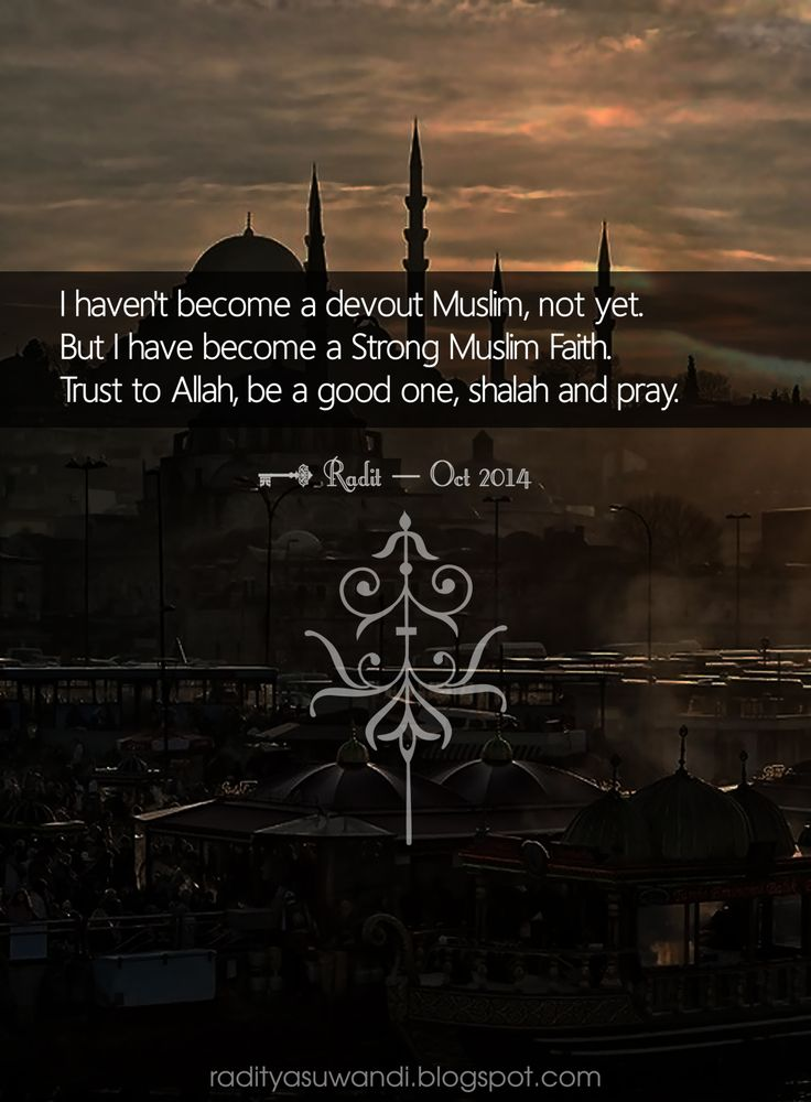 The Moslem in actually, the Truth is why we Live in this World, and for what.