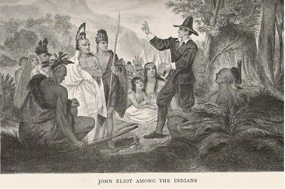 puritans and native americans relationship with the colonist
