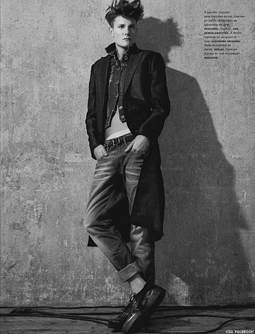 SheWired - 15 Reasons to Swoon Over Casey Legler, Ford's Stunning Female Male Model  www.strongcoffey.com