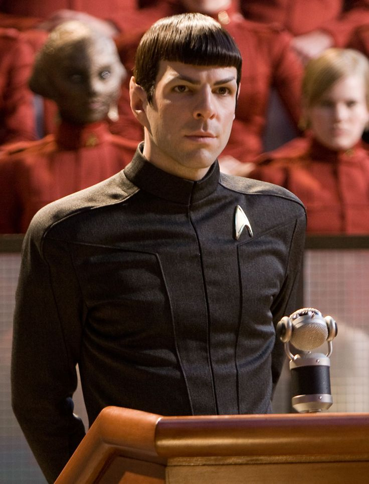 Does anyone else think Zachary Quinto's real hair looks wrong once you've seen him as Spock?