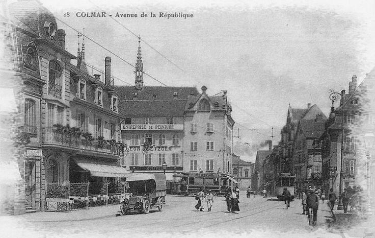 Colmar #alsace Avenue de la république