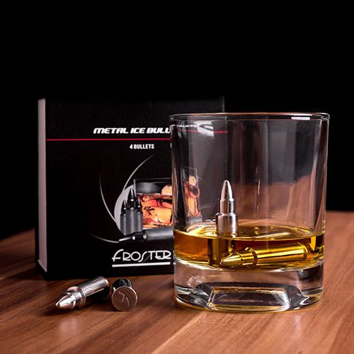 Jégkocka Whisky-be? Ugyan!  Whisky Hűtő Töltények: http://crazyshop.hu/ajandek_ferfiaknak/whisky-huto-toltenyek
