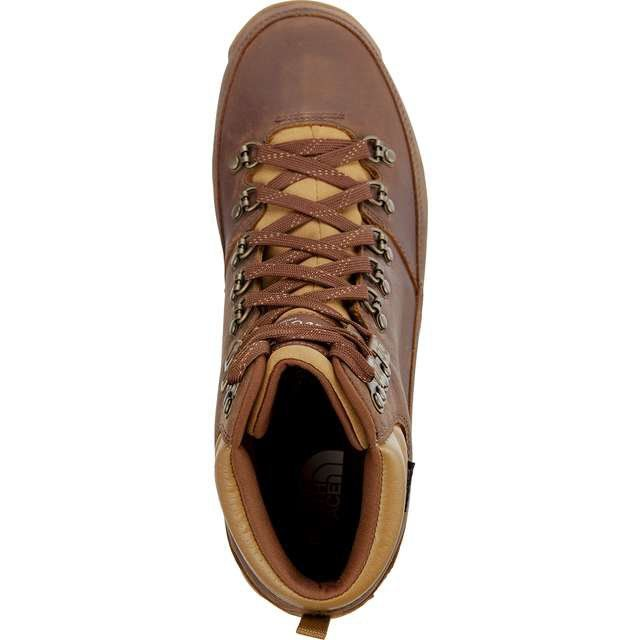 Trekkingowe Meskie Thenorthface The North Face Brazowe Men S Back To Berkeley Redux Leather Leather Light Boots Hiking Boots