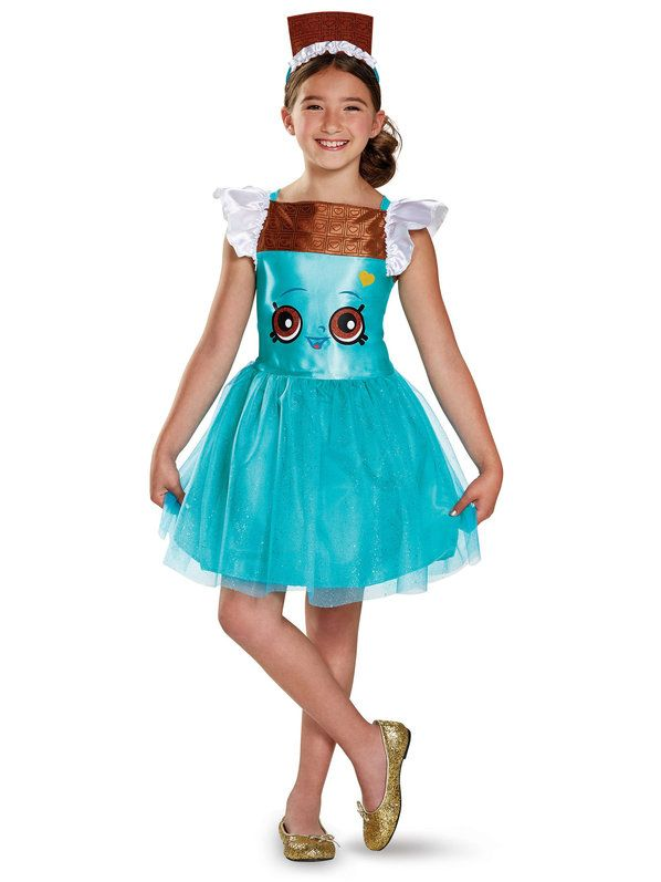 Check out Shopkins Cheeky Chocolate Classic Girls Costume - Wholesale Shopkins…