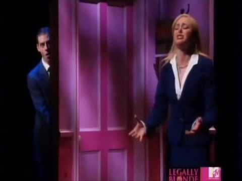 Favourite scene from Legally Blonde musical. Laura Bell Bundy and Christian Borle are brilliant as Elle Woods and Emmett Forrest