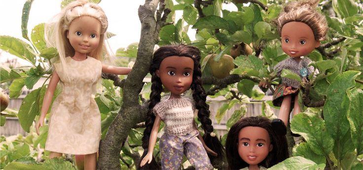 Artista rescata muñecas Bratz y las transforma en bellezas reales