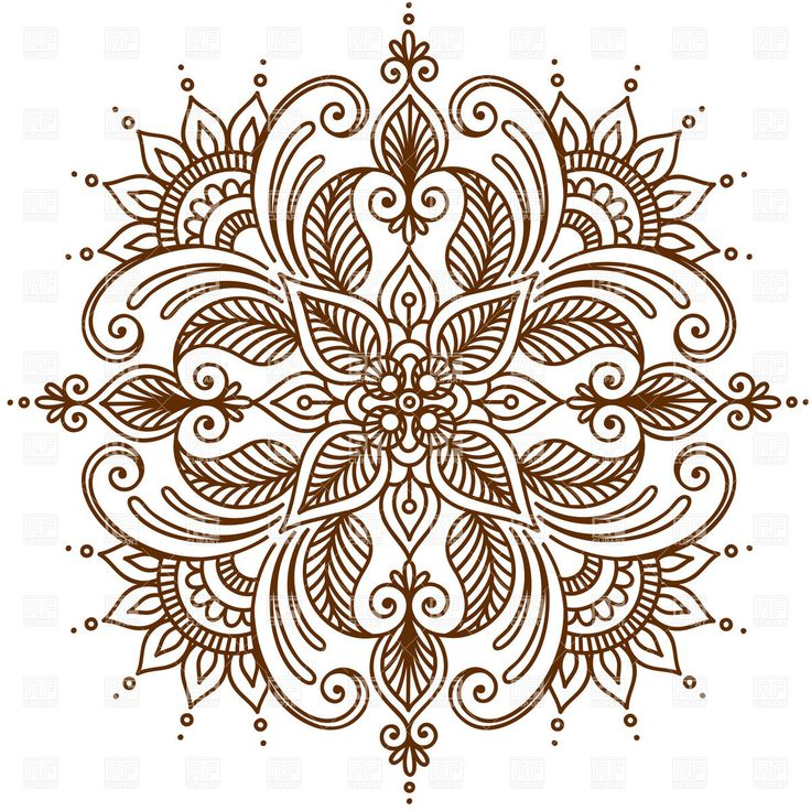 round ornament vector - Google Search