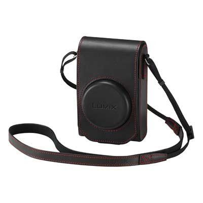 From 59.99 Panasonic Leather Case And Battery For Lumix Tz100 Camera - Black
