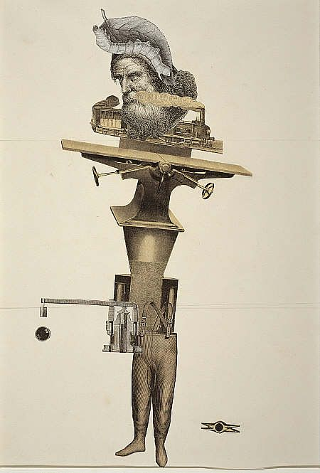 Cadavre exquis [Exquisite Corpse] 9 February 1938 /       André Breton  /  Jacqueline Lamba  /  Yves Tanguy