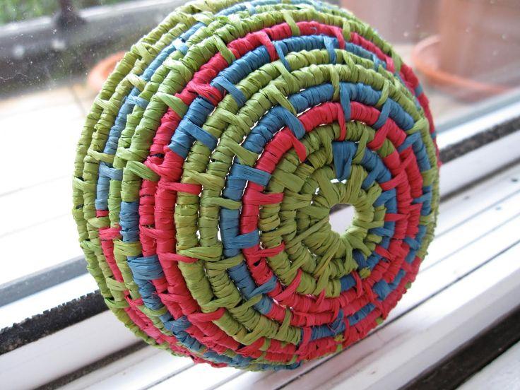 paper basket weaving template - 18 best raffia crafts for children images on pinterest