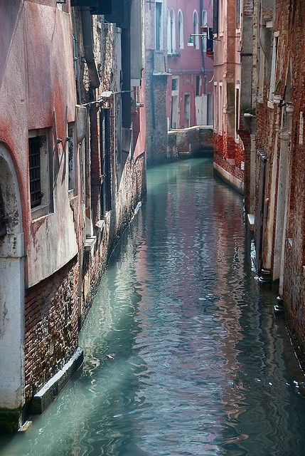 The Canals of Venice...went in winter and when I was a student. I definitely do not remember it like that...