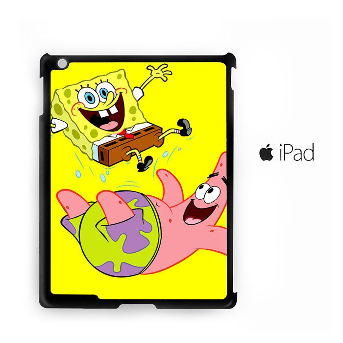 Spongebob and Best Friend for custom case iPad 2/iPad 3