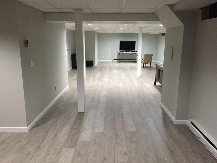 Jose G. upgraded his basement with Kronoswiss Ecru! Laminate Flooring using Express Flooring Arizona Tempe