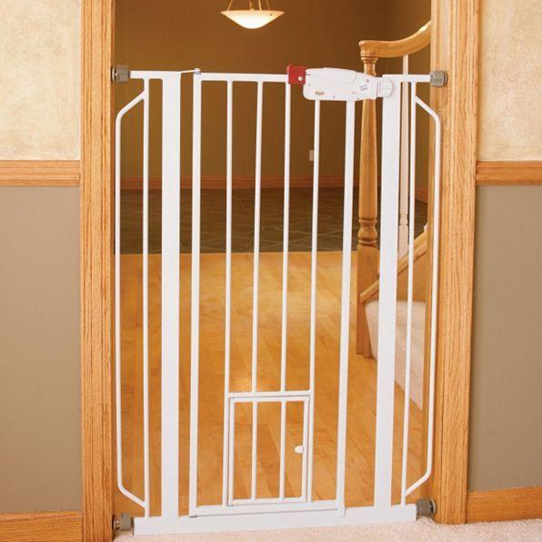 Extra | Tall Walk | Through Pet Gates with Small Door | Improvements Catalog