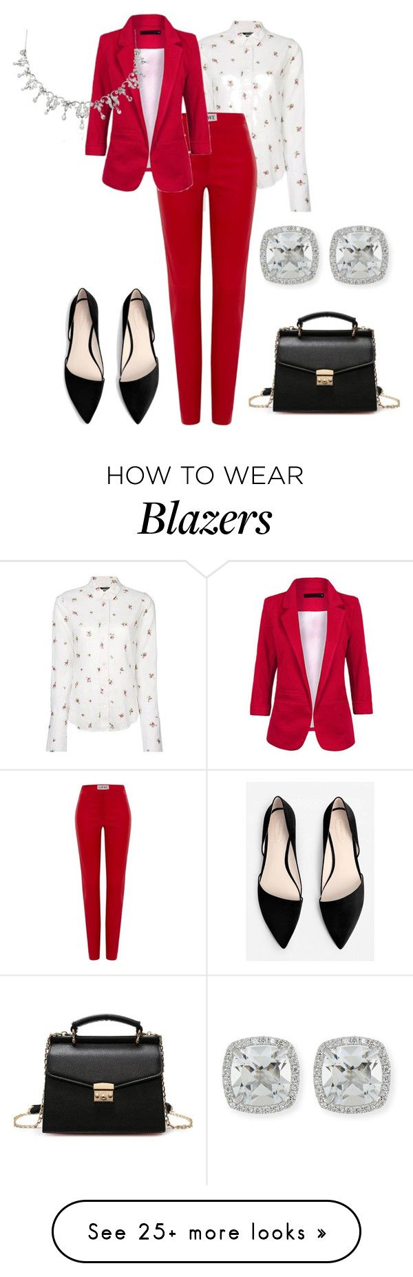 """Без названия #2536"" by claire-hamilton-bristol on Polyvore featuring Isabel Marant, Loewe, MANGO and Frederic Sage"