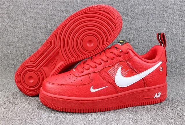 Top Nike Air Force 1 07 Lv8 Utility Aj7747 600 Jb Nike Casual Shoes Nike Casual Nike Air