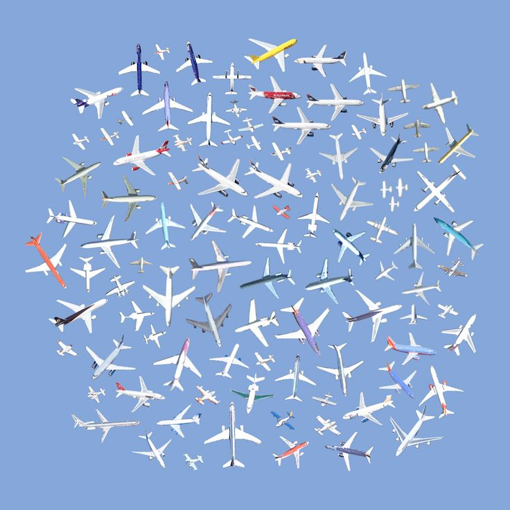 """""""104 airplanes"""" from """"Satellite Collections"""" (2009-2011) Jenny Odell's work is among the most interesting of Google-related art."""