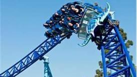 Manta Roller Coaster Seaworld San Diego.