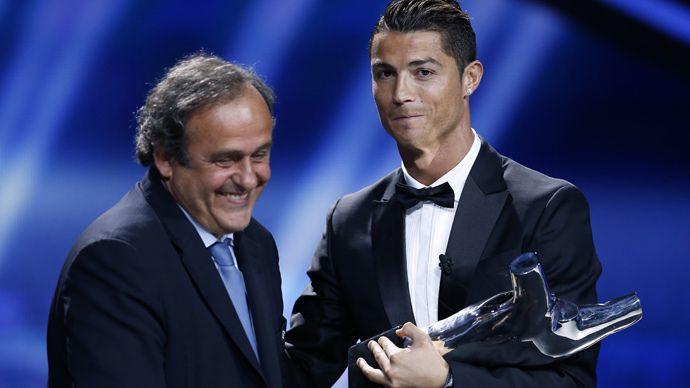 The Kingdom Of News: Sports: Cristiano Ronaldo gave Michel Platini the ...
