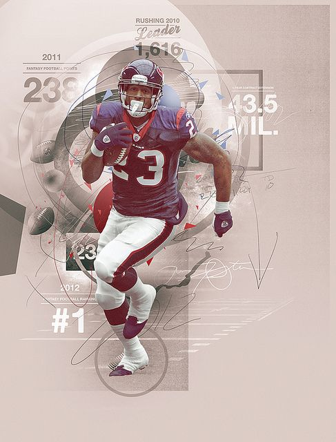 Arian Foster - By Electric Heat | Flickr - Photo Sharing!