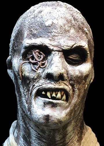 Fulci Zombie, Lucio Fulci, Zombie 2 Latex Halloween Mask | TRICK or TREAT STUDIOS - Masks to Die For!