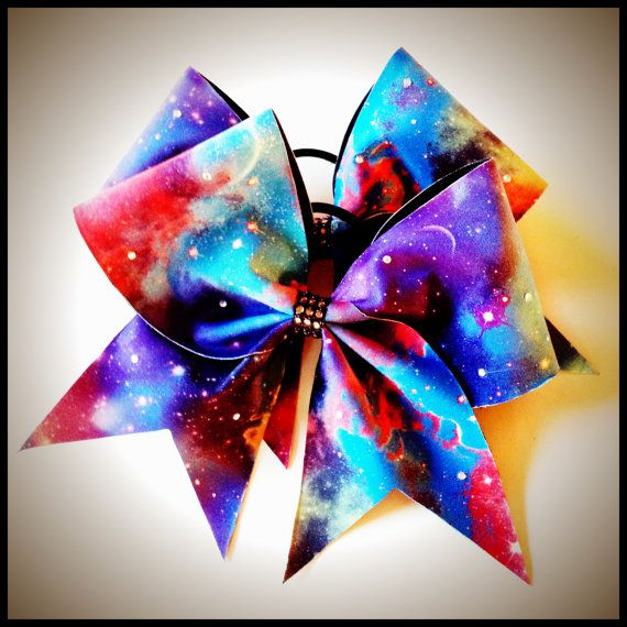 Galaxy Cheer Bow on Etsy, $15.00 #flippinbows