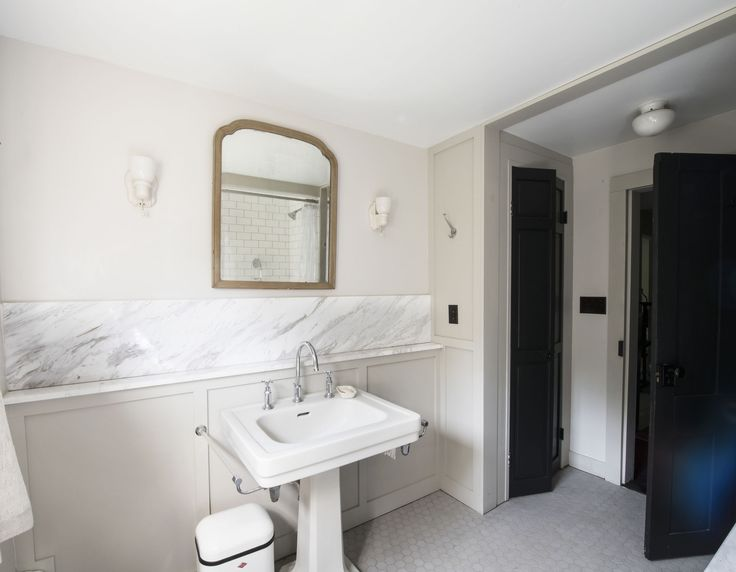 Bathroom of the Week: A 1920s-Inspired Bathroom in a Renovated NY Farmhouse
