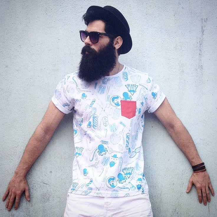 Fugazz veste Beard - Camisetas Beard - Canal Fugazz - Barba - Barbudos - Estilo Barbudo - Barbudo - Homem de barba - Barba de Respeito - Dicas de Barba